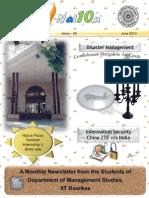 DOMSIITRoorkee Magazine June2010