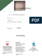 Accueil Pôle Emploi - Fusion Des Sites ANPE Et ASSEDIC