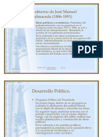 Balmaceda y Parlamentarismo Uss-ust