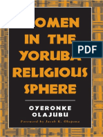 Oyeronke Olajubu-Women in the Yoruba Religious Sphere (Mcgill Studies in the History of Religion (1)
