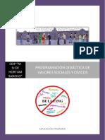 P. Didáctica - Valores Sociales y Cívicos