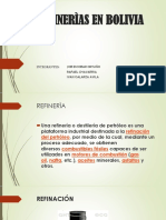 Refinerias en Bolivia(Job, Ivan, Rafael)....