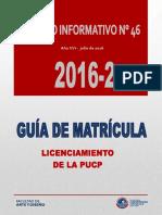 Folleto Informativo 46-2016 Guia de Matricula 2016-2