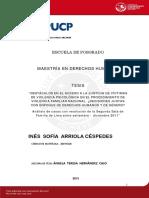 Arriola Cespedes Ines Obstaculos Acceso