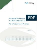 IRENA RE Latin America Policies 2015