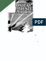 Bajatierra, Mauro - Crónicas Del Frente de Madrid [Ediciones Tierra y Libertad, 1937]