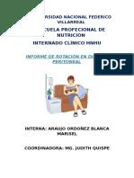Nutrición y Diálisis Peritoneal