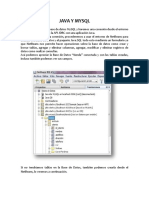 Programacion Java y Mysql