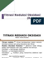 Materi KA-Titrasi Redoks