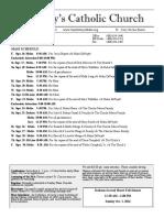 Bulletin for September 16-30, 2016