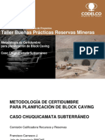 Planificacion Minera Block Caving  F Carrasco  Codelco