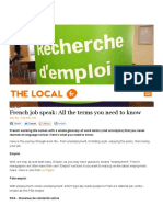 French Job Speak_ All the Terms You Need to Know - The Local