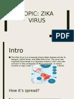 topic  zika virus