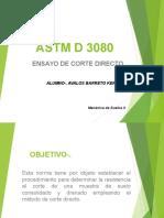 Corte Directo Norma Astm 8030
