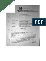 Sentencia Caso Arlette / Adriano