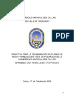 Presentacion Planes de Tesis y Trabajos de Tesis-Anexo