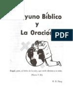Robert Flory El Ayuno Biblico y La Oracic3b3n