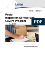 Mail Cover Audit 2014