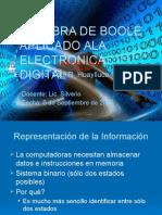PRESENTACION DE ALGEBRA DE BOOLE Y ELECTRONICA DIGITAL.pptx