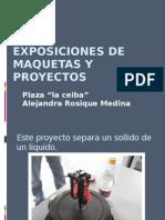 Exposiciones de Maquetas y Proyectos