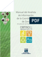 Manual de Analisis de Informacion Coordinacion de Zona