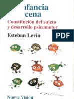 La Infancia en Escena-Esteban Levin