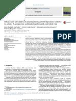 Efikasi Dan Tolerabilitas Lamotrigin Di Juvenile Mioklonik Epilepsi Pada Orang Dewasa