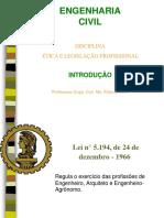 Legislação Na Engenharia Civil - 1_aspectos Iniciais