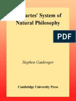 Descartes' System of Natural Philosophy