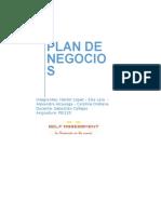 Plan de Negocios. Software de PRP