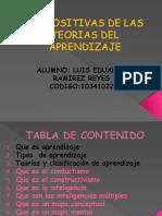 diapositivasdelasteoriasdelaprendizaje-121201164934-phpapp01