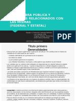 Ley de Obra Publica y Servicios Relacionados Con Las Mismas