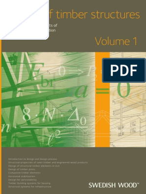 Design Of Timber Structures 1 2015 Reliability Engineering Structural Load