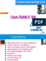 2 Month Training at BSNL