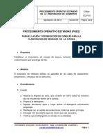 POES GC P 003 Lavado
