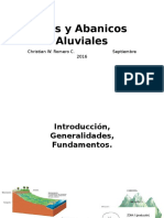 Rios y Abanicos Aluviales, Christian Romero, 2016,