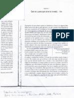 A. Capítulo 1 - Qué Es y Para Que Sirve La Investigación - Didáctica de La Investigación