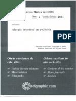 Alergia Intestinal en Pediatria
