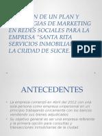 Creacion de Un Plan y Estrategias de Marketing