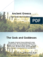 Ancient Greece - Gods and Goddesses