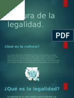 Cultura de La Legalidad (1)