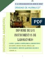 Instrumentos de Laboratorio Quimica Inorganica Laboratorio