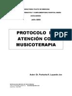 MUSICOTERAPIA- PROTOCOLO DE ATENCIÓN