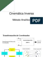 Modelacion Cinematica Inversa Metodo Analitico