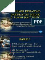 Simulasi Kegawatdaruratan Medik-SR