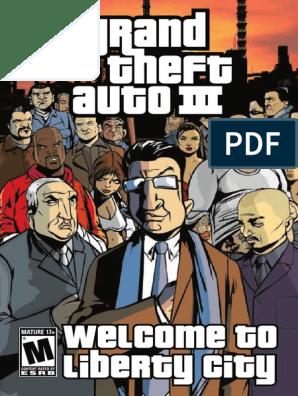 Grand Theft Auto 3 Manual pdf | Mac Os X Leopard | License