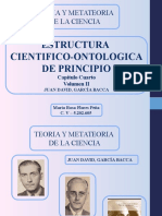 ESTRUCTURA  CIENTIFICO-ONTOLOGICA  DE PRINCIPIO