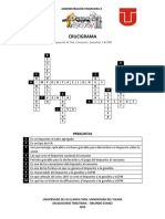 Crucigrama_Solucion_CIPA_JULIFA - Administracion Financiera X