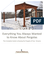 ForeverRedwood Brochure EverythingPergola