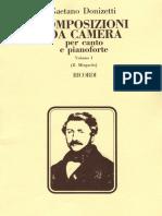 Donizetti - Composizioni Da Camera Vol. 1